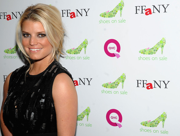 Actress/Singer Jessica Simpson attends the 16th Annual QVC Presents FFANY