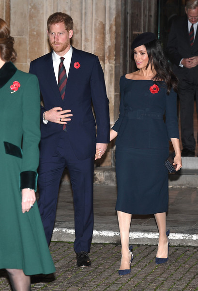 The Queen Attends A Service At Westminster Abbey Marking The Centenary Of WW1 Armistice - 49 of 67