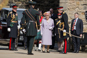 Queen Elizabeth II and Prince Philip, Duke of Edinburgh attend a commemorative service at the Scottish National War Memorial at Edinburg Castle on July 3, 2014 in Edinburgh, Scotland. The Queen and The Duke of Edinburgh have spent the week in Scotland attending various events and staying at the Palace of Holyroodhouse. The visit comes before the referendum vote on the 18th September.