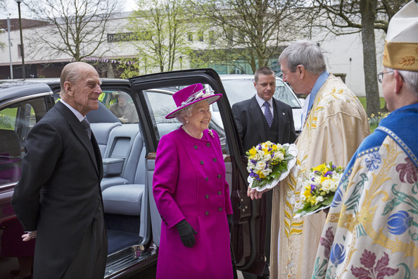 Queen Elizabeth II at Blackburn Cathedral