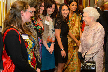 Queen Elizabeth II Commonwealth Reception Held at Marlborough House