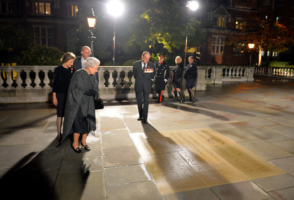 The Festival Of Remembrance And QEII Diamond Jubilee Steps At The Royal Albert Hall