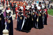 Princess Anne, Princess Royal (centre L), Prince Richard, Duke of Gloucester (centre R), Prince Andrew, Duke of York, Prince Edward, Earl of Wessex, Prince William, Duke of Cambridge and Prince Charles, Prince of Wales attend the annual Order of the Garter Service at St George's Chapel, Windsor Castle on June 18, 2011 in Windsor, England. The Order of the Garter is the senior and oldest British Order of Chivalry, founded by Edward III in 1348. Membership in the order is limited to the sovereign, the Prince of Wales, and no more than twenty-four members.