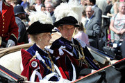 Prince Edward, Duke of Kent (R) attends the annual Order of the Garter Service at St George's Chapel, Windsor Castle on June 18, 2011 in Windsor, England. The Order of the Garter is the senior and oldest British Order of Chivalry, founded by Edward III in 1348. Membership in the order is limited to the sovereign, the Prince of Wales, and no more than twenty-four members.