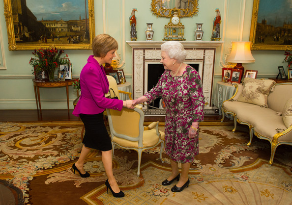 Nicola Sturgeon Attends First Audience