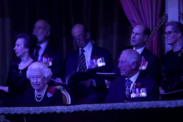 Queen Elizabeth II The Royal Family Attend The Festival Of Remembrance