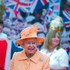 Queen Elizabeth II Photos - Queen Elizabeth II arrives at Corporation Quay on July 18, 2012 in Sunderland, England. During a two-day visit to the North East of England as part of the Queen's Diamond Jubilee Tour, the Queen and Duke Of Edinburgh toured a Diamond Jubilee exhibition celebrating 60 years of Her Majesty's reign and viewed a flypast of a Vulcan bomber at Corporation Quay in Sunderland. - Queen Elizabeth II Visits North East As Part Of Her Diamond Jubilee Tour