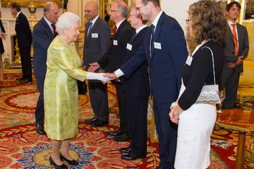 Queen Elizabeth II Guests Attend the Queen's Awards for Enterprise 2015 Reception