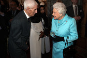 Queen Elizabeth II and Ron Knight Photos Photo