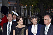 Princess Mary of Denmark and Prince Frederik of Denmark attend a memorial concert in honour of the late Queen Ingrid's 100th birthday at Tivoli on August 31, 2010 in Copenhagen, Denmark.