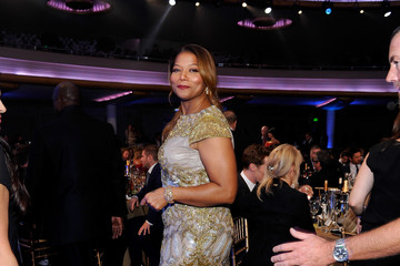 Queen Latifah Backstage at the 18th Annual Hollywood Film Awards