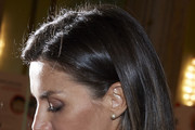 Queen Letizia Attends The Centenary Of The School Of Nursing And Of The Central Hospital Of Cruz Roja