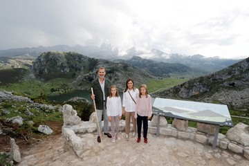 Queen Letizia of Spain King Felipe of Spain Spanish Royals Attend 13th Centenary of The Reign of Asturias