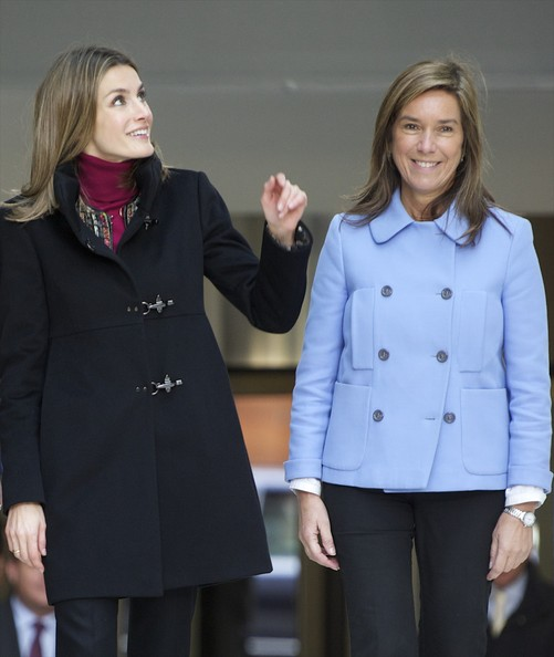 Princess Letizia of Spain Attends Forum Against Cancer