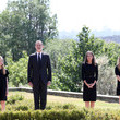 Queen Letizia of Spain Spanish Royals Take Minute Of Silence For the COVID 19 Victims