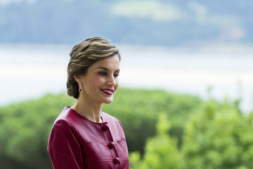 Queen Letizia of Spain Spanish Royals Inaugurate Botin Center and Join 'Coworking Santander' Programme