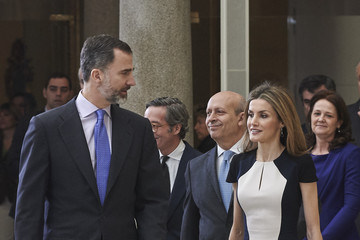 Queen Letizia of Spain Spanish Royals Attend 'National Culture Awards' 2015