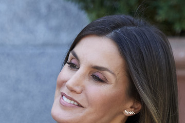 Queen Letizia of Spain Spanish Royals Receive President Of Chile And His Wife At Zarzuela Palace