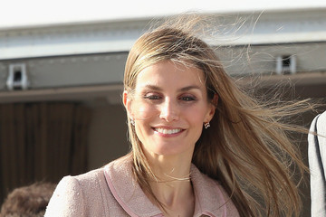 Queen Letizia of Spain Spanish Royals Visit Morocco: Day 2