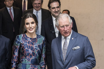 "Queen Letizia of Spain Royals Attend The Opening Of ""Sorolla: Spanish Master of Light"" At The National Gallery"