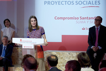 Queen Letizia of Spain Queen Letizia Of Spain Attends 'Proyectos Sociales de Banco Santander' Awards