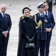 Queen Máxima King Willem-Alexander Of The Netherlands And Queen Maxima Attend The Remembrance Day