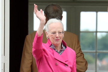 Queen Margrethe II Annual Summer Photocall for the Danish Royal Family at Grasten Castle