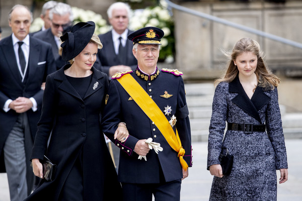 Funeral Of Grand Duke Jean Of Luxembourg