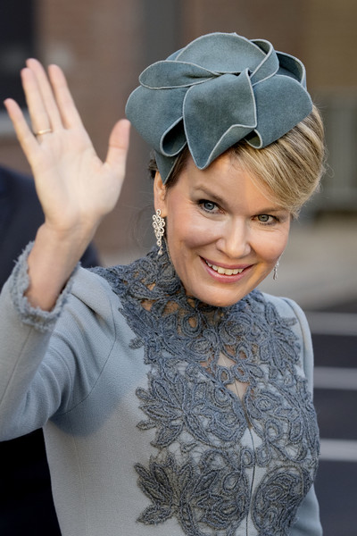 Queen Mathilde of Belgium and King Philippe of Belgium On A 3 Day Official Visit In Holland : Day Three