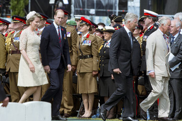 Queen Mathilde of Belgium Members Of The Royal Family Attend The Passchendaele Commemorations In Belgium