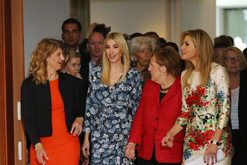 Queen Maxima Ivanka Trump Attends W20 Conference In Berlin