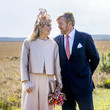 Queen Maxima King Willem-Alexander Of The Netherlands And Queen Maxima Of The Netherlands Visit Drenthe Province