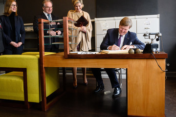 Queen Maxima King Willem-Alexander and Queen Maxima of The Netherlands Visit Saxony-Anhalt - Day 2