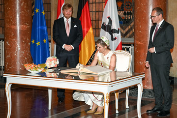 Queen Maxima King Willem-Alexander Of The Netherlands And Queen Maxima Visit Berlin - Day One