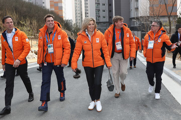 Queen Maxima Around the Games: Day 1 - Winter Olympic Games