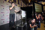 "Recording artist David Archuleta attends a pep rally for the ""Girl Up"" United Nations Foundation Campaign at Marlborough School on November 5, 2010 in Los Angeles, California."