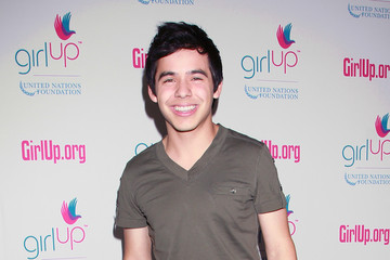 """David Archuleta Queen Rania Al Abdullah Of Jordan Leads A Pep Rally For The """"Girl Up"""" United Nations Foundation Campaign"""