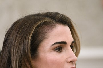 Queen Rania President Trump Welcomes King Abdullah And Queen Rania Of Jordan To White House