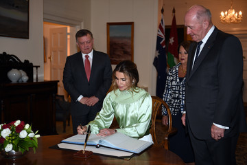 Queen Rania Jordan Royals on Official Visit to Australia