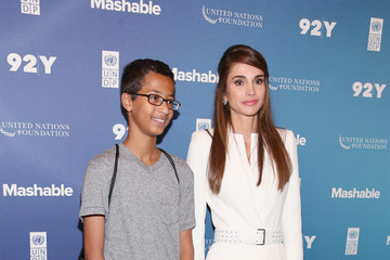 Queen Rania Celebs Attend the 2015 Social Good Summit - Day 1
