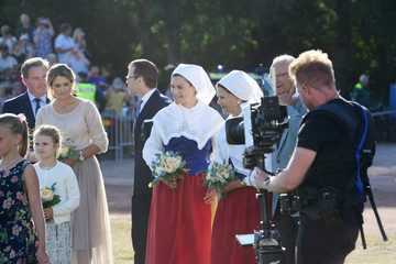 Queen Silvia The Crown Princess Victoria Of Sweden's Birthday Celebrations