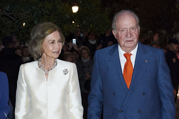 Queen Sofia King Juan Carlos I Spanish Royals Attend The Lecture Of The Constitution On Its 40th Anniversary