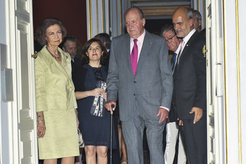 Queen Sofia Spanish Royals Inaugurate 'De Caravaggio A Bernini' Exhibition