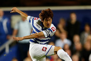 Ji Sung Park of Queens Park Rangers during the Capital One Cup Second Round match between Queens Park Rangers and Walsall at Loftus Road on August 28, 2012 in London, England.