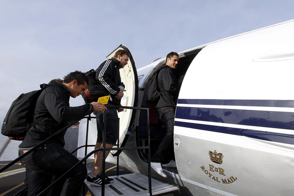 Crusaders Fly To Wellington On DC3