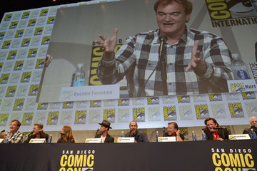 Quentin Tarantino 'THE HATEFUL EIGHT' Press Line and Panel at Comic-Con International 2015