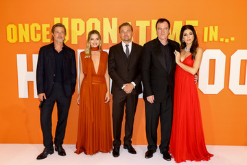 Quentin Tarantino Margot Robbie 'Once Upon A Time In Hollywood' UK Premiere