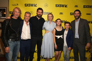 (L-R) Producers Michael Bay, Brad Fuller, director John Kransinski, actors Emily Blunt, Millicent Simmonds, Noah Jupe and producer Andrew Form attend the Opening Night Screening and World Premiere of 'A Quiet Place' during the 2018 SXSW Film Festival on March 9, 2018 in Austin, Texas.