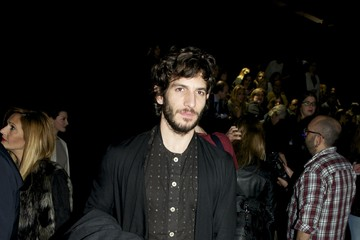 Quim Gutierrez Celebrity Sightings at MBFW in Madrid