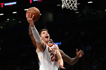Quincy Acy Cleveland Cavaliers v Brooklyn Nets